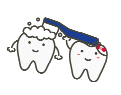 Tooth brushing a tooth cartoon - Children's Dentistry of Lincoln