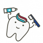 Tooth brushing cartoon - Children's Dentistry of Lincoln